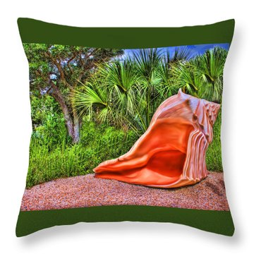 Shell Attack Throw Pillow