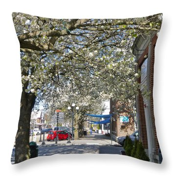 Small Town Saturday 2 Throw Pillow