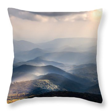 Sound The Trumpets Throw Pillow