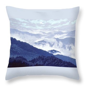 Spirit Of The Air Throw Pillow by Blue Sky
