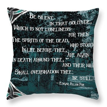 Spirits Of The Dead Throw Pillow