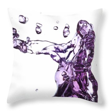 Splash 3 Throw Pillow