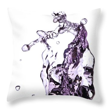 Splash 4 Throw Pillow