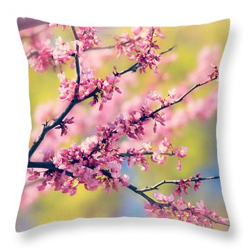 Throw Pillow featuring the photograph Spring by Elizabeth Budd