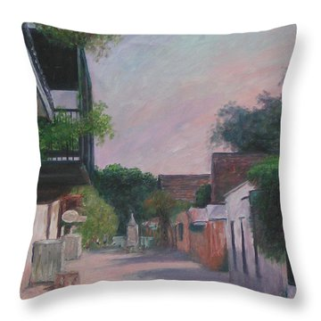 St. George Street Throw Pillow