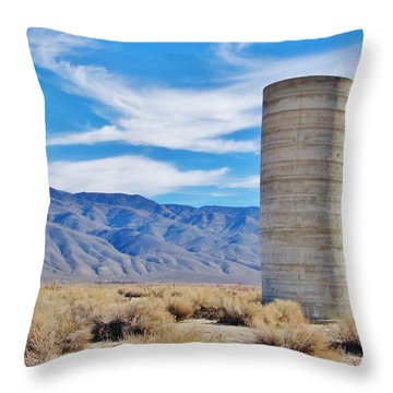 Standing Still Throw Pillow