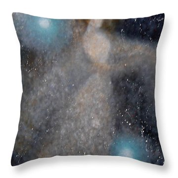 Throw Pillow featuring the painting Star Lady by Min Zou