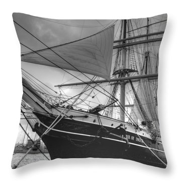 Star Of India Throw Pillow