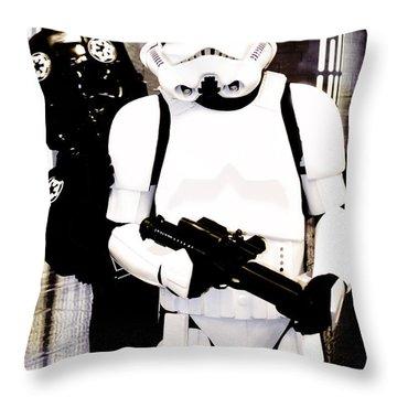 Star Wars Stormtrooper  Throw Pillow