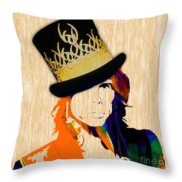 Steven Tyler Collection Throw Pillow