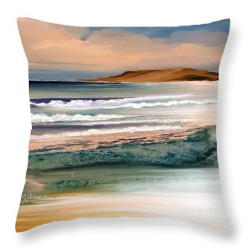 Summer  Throw Pillow by Anthony Fishburne