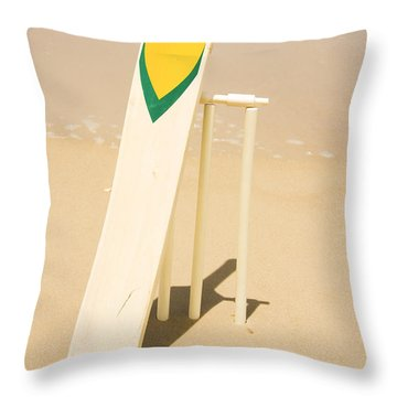 Summer Sport Throw Pillow by Jorgo Photography - Wall Art Gallery