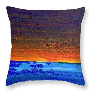 Sunset 2012 Throw Pillow