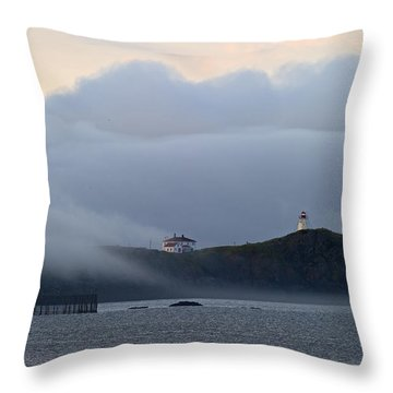 Swallowtail Lighthouse... Throw Pillow