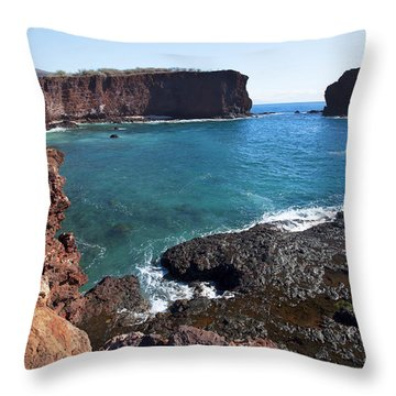 Sweetheart Rock Throw Pillow by Jenna Szerlag