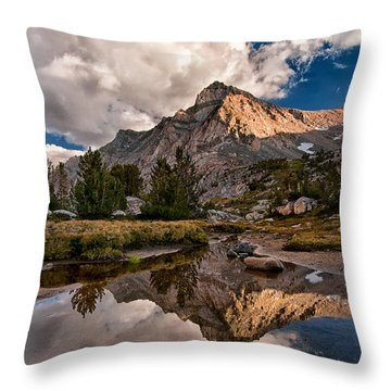 Tarn Reflection Throw Pillow