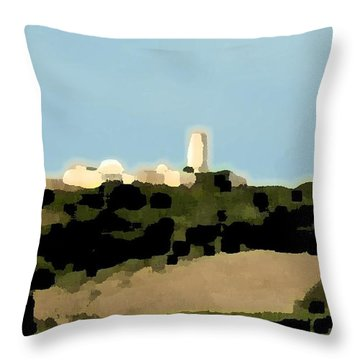 Tarquinia Landscape Throw Pillow