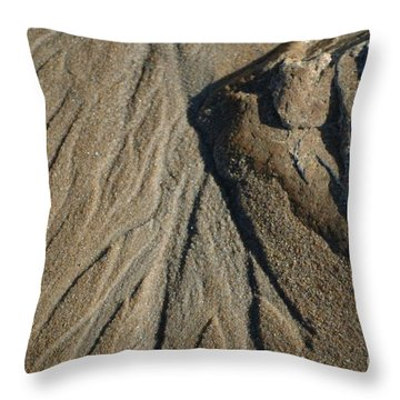 Throw Pillow featuring the photograph Temporary Illusions by Christiane Hellner-OBrien