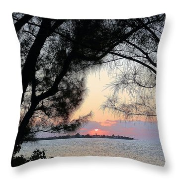 Throw Pillow featuring the photograph Tequila Sunrise by Amar Sheow