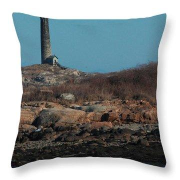 Thatcher Island Throw Pillow