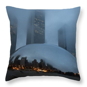 The Bean And Fog Throw Pillow