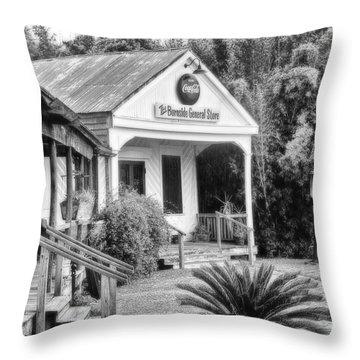 The Burnside General Store Throw Pillow by Scott Pellegrin