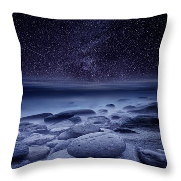 The Cosmos Throw Pillow