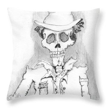 The Dealer Throw Pillow