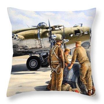 Hot Rod Throw Pillows