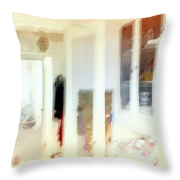 2 The Hallway Throw Pillow