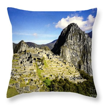 The Lost City Throw Pillow