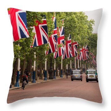 The Mall Throw Pillow