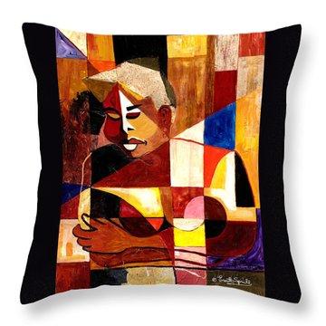 The Matriarch - Take 2 Throw Pillow