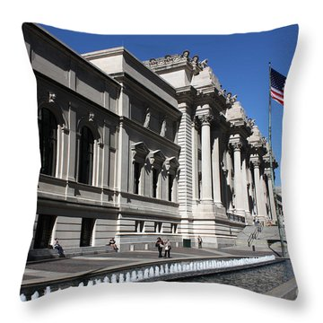 The Met Throw Pillow
