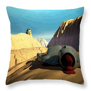 The Midlife Dreamer Throw Pillow