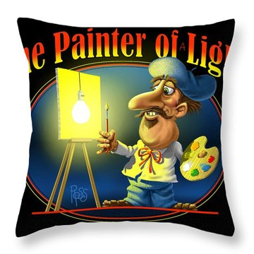 The Painter Of Light Throw Pillow