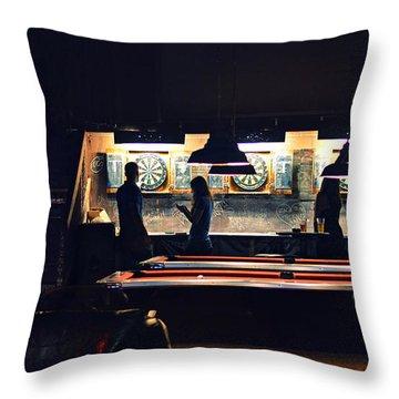 The Pub Throw Pillow