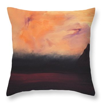 The Return Throw Pillow by George Fagnan
