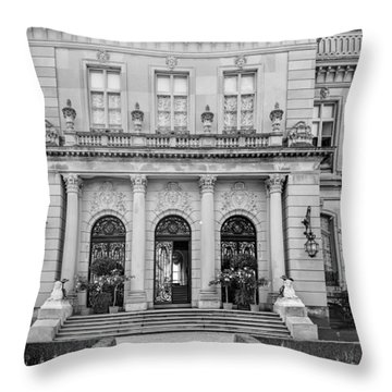 The Rosecliff Throw Pillow