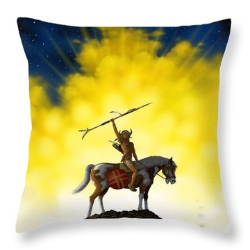 The Signal Throw Pillow
