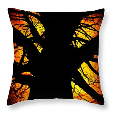 The Tree Of Knowledge Throw Pillow