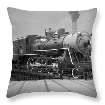 The Turntable Throw Pillow by Mike McGlothlen