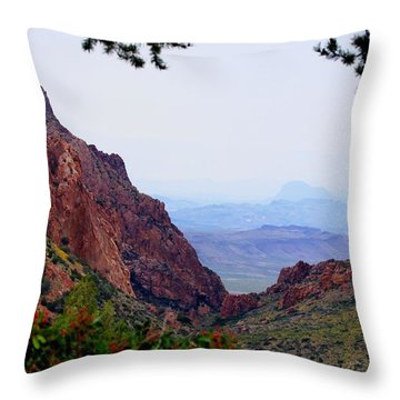 Throw Pillow featuring the photograph The Window by Dave Files
