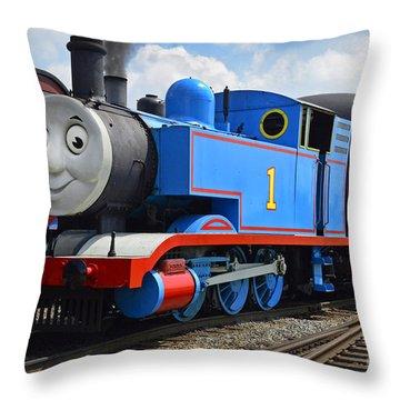 Thomas The Engine Throw Pillow
