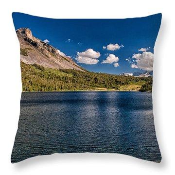 Tioga Lake Throw Pillow