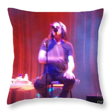 Throw Pillow featuring the photograph Todd by Kelly Awad