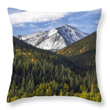 Torreys Peak  Throw Pillow