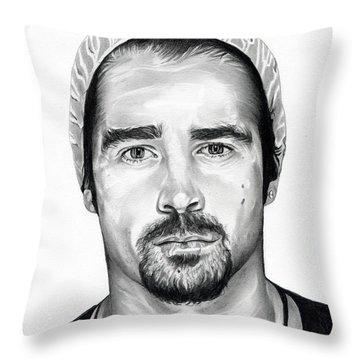 Total Recall  Colin Farrell Throw Pillow
