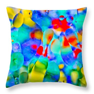 Touch/respond Throw Pillow