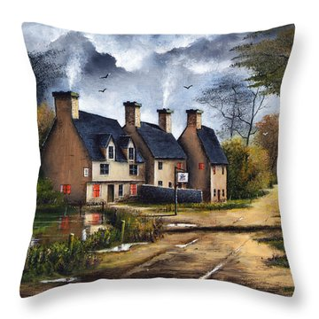 Travellers Rest Throw Pillow